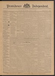 Providence Independent, V. 21, Thursday, October 17, 1895, [Whole Number: 1060]
