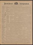 Providence Independent, V. 21, Thursday, October 31, 1895, [Whole Number: 1062]