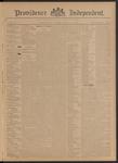 Providence Independent, V. 21, Thursday, November 7, 1895, [Whole Number: 1063]