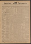 Providence Independent, V. 21, Thursday, November 14, 1895, [Whole Number: 1064]