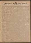 Providence Independent, V. 21, Thursday, November 21, 1895, [Whole Number: 1065]