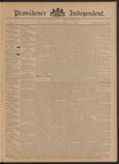 Providence Independent, V. 21, Thursday, December 12, 1895, [Whole Number: 1068]