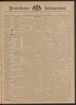 Providence Independent, V. 21, Thursday, December 19, 1895, [Whole Number: 1069]