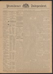 Providence Independent, V. 21, Thursday, February 6, 1896, [Whole Number: 1076]
