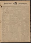 Providence Independent, V. 21. Thursday, May 14, 1896, [Whole Number: 1090]