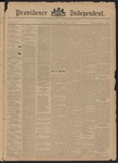 Providence Independent, V. 21, Thursday, May 21, 1896, [Whole Number: 1091]