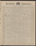 Providence Independent, V. 22, Thursday, July 30, 1896, [Whole Number: 1101]