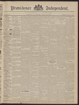 Providence Independent, V. 22, Thursday, August 27, 1896, [Whole Number: 1105]