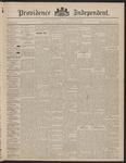 Providence Independent, V. 22, Thursday, September 10, 1896, [Whole Number: 1107]