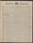 Providence Independent, V. 22, Thursday, October 15, 1896, [Whole Number: 1112]