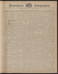 Providence Independent, V. 22, Thursday, November 19, 1896, [Whole Number: 1117]