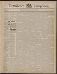 Providence Independent, V. 22, Thursday, December 3, 1896, [Whole Number: 1119]