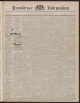 Providence Independent, V. 23, Thursday, November 25, 1897, [Whole Number: 1169]