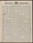 Providence Independent, V. 23, Thursday, January 6, 1898, [Whole Number: 1175] by Providence Independent