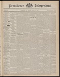 Providence Independent, V. 23, Thursday, March 10, 1898, [Whole Number: 1184]
