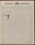 Providence Independent, V. 23, Thursday, May 26, 1898, [Whole Number: 1195]