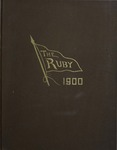 1900 Ruby Yearbook by John Edward Stone, Edwin Moyer Hershey, and Ursinus College Junior Class