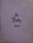 1904 Ruby Yearbook by Edwin Milton Sando, Oscar Davis Brownback, and Ursinus College Junior Class