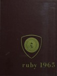 1965 Ruby Yearbook by Jean E. Hunter, Howard M. Smith Jr., Edward M. Van Doren, and Ursinus College Senior Class