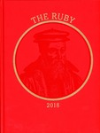 2018 Ruby Yearbook by Mia Truman, Emily Bender, Xinyun Zhang, Tiffini Eckenrod, Annparke Sullivan, and Ursinus College Senior Class
