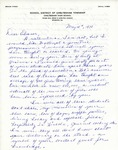 Letter From Betty Dando to Eleanor Snell, May 18, 1970