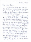 Letter From Sue Leinbach to Eleanor Snell