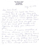 Letter From Alice Young to Eleanor Snell, May 18, 1970