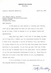 Letter From Betty Buckley to Eleanor Snell, April 28, 1970