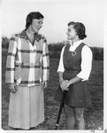 Eleanor Frost Snell With Marjorie Merrifield Loomis, Fall 1953 by Phillips Studio