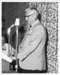 G. Sieber Pancoast Speaking at the Eleanor Snell Testimonial Dinner, May 22, 1970