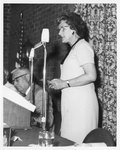 Marion B. Earl Speaking at the Eleanor Snell Testimonial Dinner, May 22, 1970