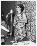 Sue Day Stahl Speaking at the Eleanor Snell Testimonial Dinner, May 22, 1970