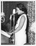 Janet Shoemaker Wickerham Speaking at the Eleanor Snell Testimonial Dinner, May 22, 1970