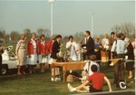 Awards Presentation at Ursinus College Homecoming Halftime Ceremony, October 27, 1984