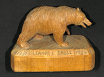 Ursinus College Grizzly Bear Belonging to Eleanor Frost Snell, 1956