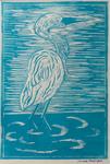 Blue Crane by Jaclyn Partyka '06