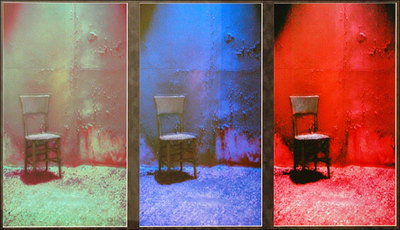 Solitude, a Tribute to Warhol's Electric Chair