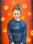 Self Portrait by Teddi Caputo '18