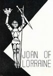 Program for the Stage Production Joan of Lorraine by Curtain Club