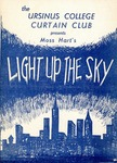 Program for the Stage Production Light Up The Sky by Curtain Club