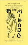 Program for the Stage Production The Mikado