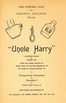 Program for the Stage Production Uncle Harry