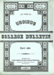 Ursinus College Bulletin Vol. 2, No. 4 by Executive Committee of the Board of Directors