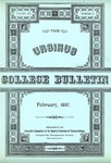 Ursinus College Bulletin Vol. 3, No. 2