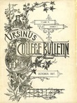 Ursinus College Bulletin Vol. 4, No. 1