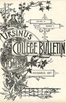 Ursinus College Bulletin Vol. 4, No. 2 by Augustus W. Bomberger and Jonathan L. Fluck