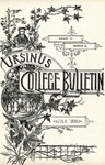 Ursinus College Bulletin Vol. 4, No. 10