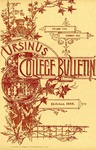 Ursinus College Bulletin Vol. 5, No. 1