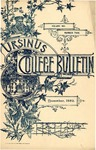 Ursinus College Bulletin Vol. 6, No. 2 by Augustus W. Bomberger, I. Calvin Fisher, and Charles P. Kehl