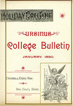 Ursinus College Bulletin Vol. 6, No. 4